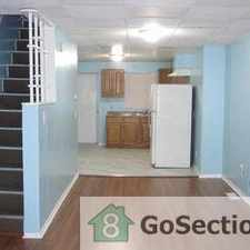 Rental info for 11 S. Janney St in the Baltimore area
