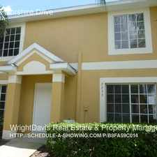 Rental info for 2233 Fluorshire Drive in the Tampa area