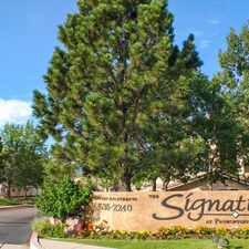 Rental info for The Signature At Promontory Point