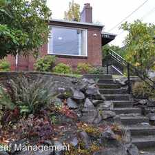 Rental info for 7707 30th Ave NW in the Sunset Hill area