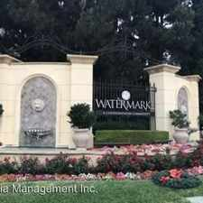 Rental info for 3310 Watermarke Pl in the Irvine area