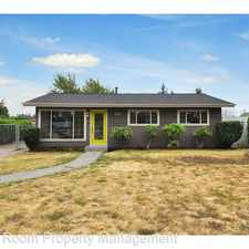 Rental info for 11826 NE Sacramento Street in the Parkrose Heights area