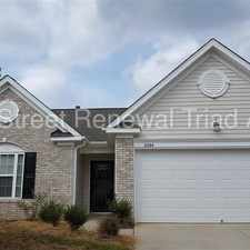 Rental info for Lovely One Level Home In Winston Salem in the Union Ridge area