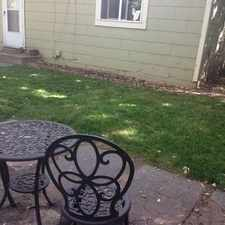 Rental info for Quaint 1 bedroom Single Family Home for Rent near downtown Boulder with private flagstone patio.
