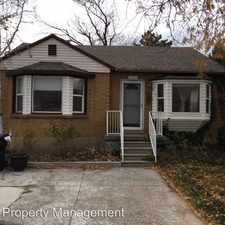 Rental info for 3334 South 3130 East in the East Millcreek area