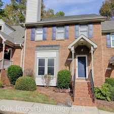 Rental info for 4111 Settlement Dr in the Durham area