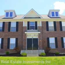 Rental info for 28 Stonewall Creek Ct. in the O'Fallon area