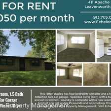 Rental info for 411 Apache