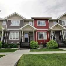 Rental info for 7289 South Terwillegar Drive Northwest #22 in the Terwillegar South area