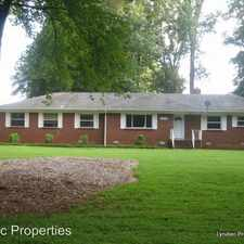 Rental info for 6501 Grove Park Blvd in the Hickory Grove area