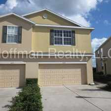 Rental info for Beautiful & Spacious townhome in desirable Magnolia Park in the Tampa area