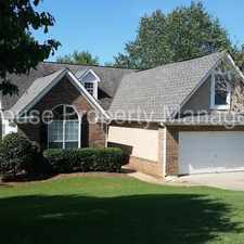 Rental info for 137 Pecan Crescent in the Newnan area