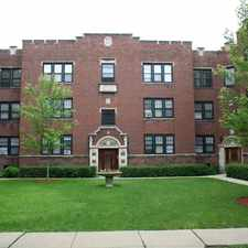 Rental info for 4804-16 N. Linder /5502 W. Lawrence in the Lincoln Park area