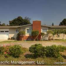 Rental info for 1457 11th Street in the 90266 area
