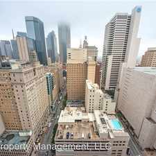 Rental info for 1200 Main Street 1210 in the Dallas area