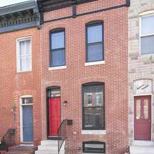 Rental info for 1811 Light St. in the SBIC - West Federal Hill area