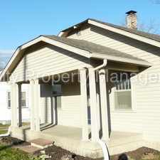 Rental info for Great Home with Hardwood Floors in the Indianapolis area