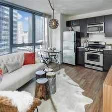 Rental info for 345 E Wacker Convertible in the The Loop area