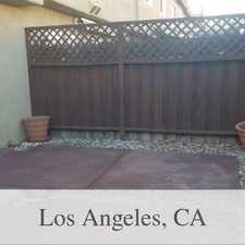 Rental info for Attractive 3 Bed, 3 Bath. Parking Available! in the Los Angeles area