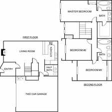 Rental info for Huge 3 Bedroom 2. 5 Bathroom Townhome in the Sagepointe area