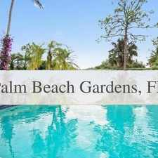 Rental info for 4 Bedrooms House - BEAUTIFUL Upgraded And Furni... in the Palm Beach Gardens area