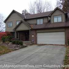 Rental info for 847 Hensel Woods Rd. in the Gahanna area