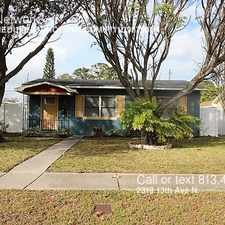 Rental info for 2319 13th Ave N. in the St. Petersburg area