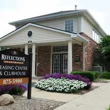 Rental info for Lovely Indianapolis, 2 Bed, 1.50 Bath in the Greenbriar area