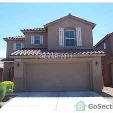 Rental info for Beautiful four bedroom home for rent in the Las Vegas area