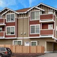 Rental info for 3 Bedroom IN THE HEART OF WALLINGFORD and GREEN LAKE - FANTASTIC TOWNHOME! in the Seattle area