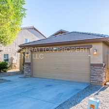 Rental info for 1847 W DESERT SEASONS DR - 4BR 2BA Hunt Hwy/Gary - SINGLE LEVEL HOME WITH STAINLESS STEEL APPLIANCES, WASHER/DRYER AND REFRIGERATOR INCLUDED! BEAUTIFUL HOME! CALL TODAY!