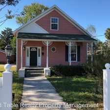 Rental info for 3404 St. Augustine Rd in the Jacksonville area