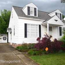 Rental info for 21170 Fuller AVE in the 44123 area
