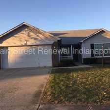 Rental info for 2158 Elderberry Way - Newly Renovated Ranch on a Pond in the Indianapolis area