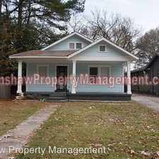 Rental info for 802 Brower St. in the Memphis area