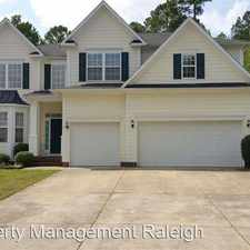 Rental info for 2808 Carriage Meadows Dr in the Wake Forest area