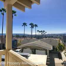 Rental info for 601 E. Micheltorena Street, Unit #101