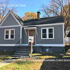 Rental info for 2806 Shenandoah Ave in the Northgate Park area