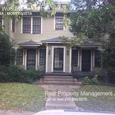 Rental info for 133 E Woodlawn in the San Antonio area
