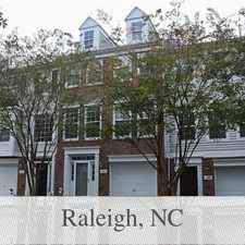 Rental info for Fantastic 3br 2. 5ba Townhome In Delta Ridge Co... in the Raleigh area