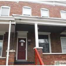 Rental info for Nice rowhome at a great price!! in the Shipley Hill area