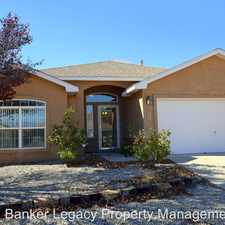 Rental info for 7608 Kingsway Court NW in the Ladera West area