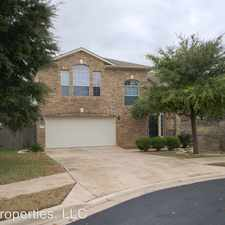 Rental info for 16216 Castletroy Dr in the Brushy Creek area