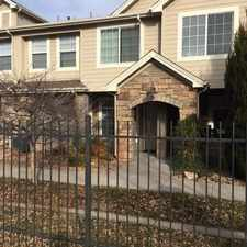 Rental info for 10010 E. Gunnison Place in the Dayton Triangle area