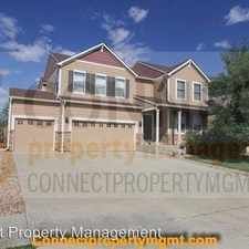 Rental info for 10059 Granby Drive in the Denver area