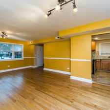Rental info for Fully rehabbed 3 bedroom 1 bathroom apartment. Rent includes a garage spot, free laundry on site and electricity. in the Chatham area