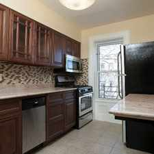 Rental info for 607 Eastern Parkway #4 in the New York area