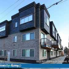 Rental info for 1803-1847 N Lombard in the Arbor Lodge area