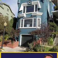 Rental info for 20 Ashbury Terrace in the San Francisco area