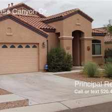 Rental info for 12864 N. Bass Canyon Dr.